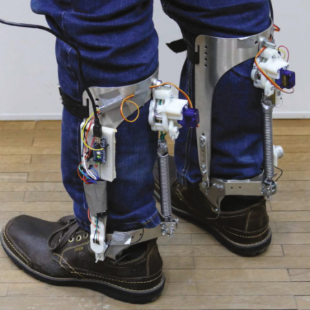 Qualitative Assessment of a Clutch-Actuated Ankle Exoskeleton