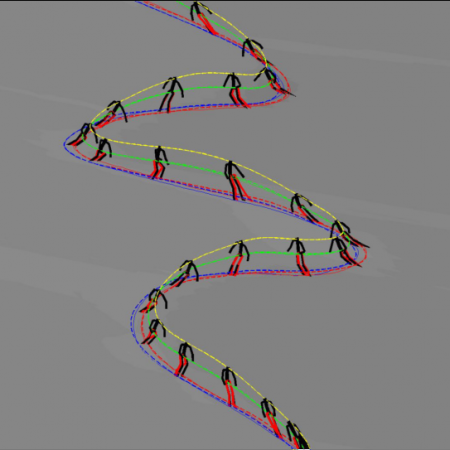 Estimation of Alpine Skier Posture Using Machine Learning Techniques