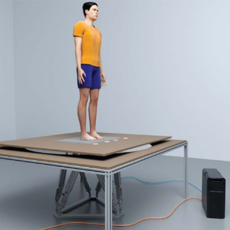 A robotic system for delivering novel real-time, movement dependent perturbations