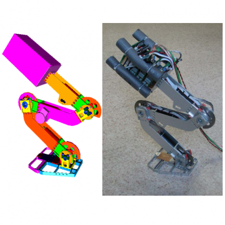 Biarticular legged robot: Design and experiments