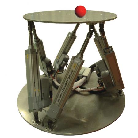 Utilization of human sensorimotor learning capacity for obtaining novel robot behaviours: 2-DOF ball balancing on a parallel platform