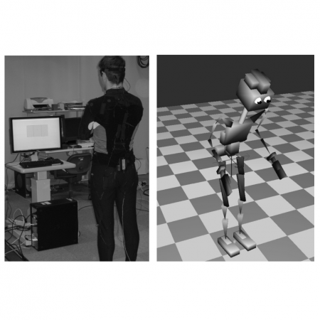 From Biologically Realistic Imitation to Robot Teaching Via Human Motor Learning