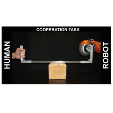 Teaching robots to cooperate with humans in dynamic manipulation tasks based on multi-modal human-in-the-loop approach