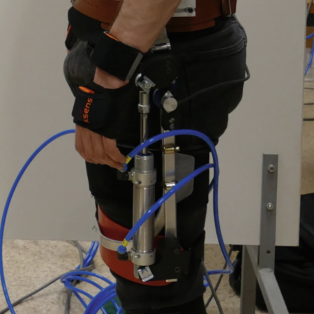 Human Trunk Stabilization with Hip Exoskeleton for Enhanced Postural Control