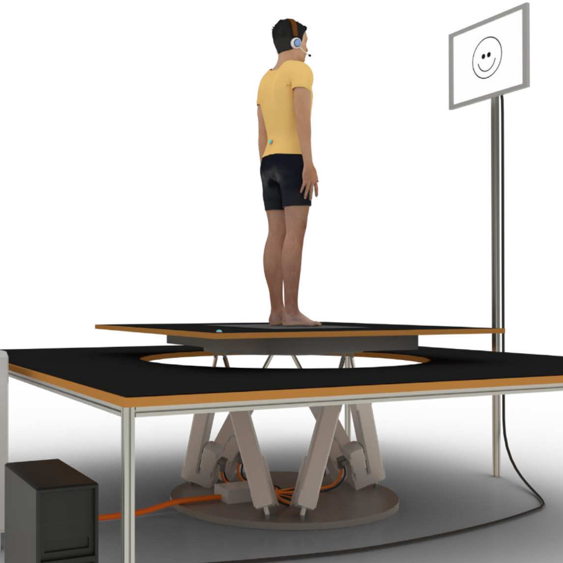 Small, movement dependent perturbations substantially alter postural control strategy in healthy young adults